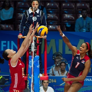 Mundial Voleibol 2014 Republica Dominicana vs China